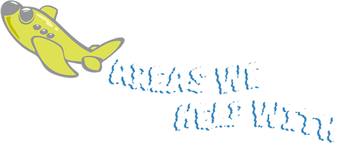 Areas We Help With